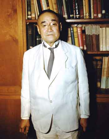 Prime Minister Shigeru Yoshida - most famous post war politician - Boria photo