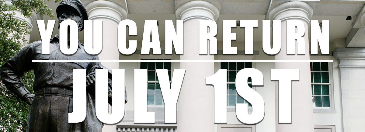 you can return july