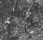 "Ph00021282 - Men of the 34th Infantry Regiment during the battle to retake the ""Rock."""