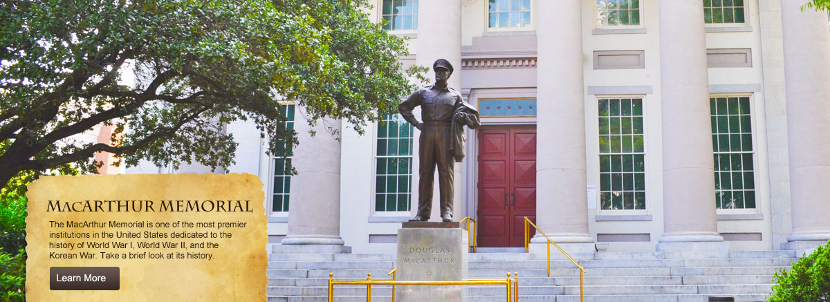Statue of General MacArthur by Walter Hancock