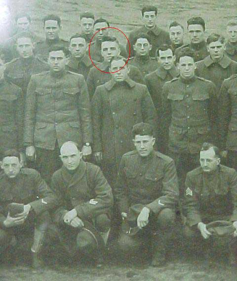 Cleckner in group photograph