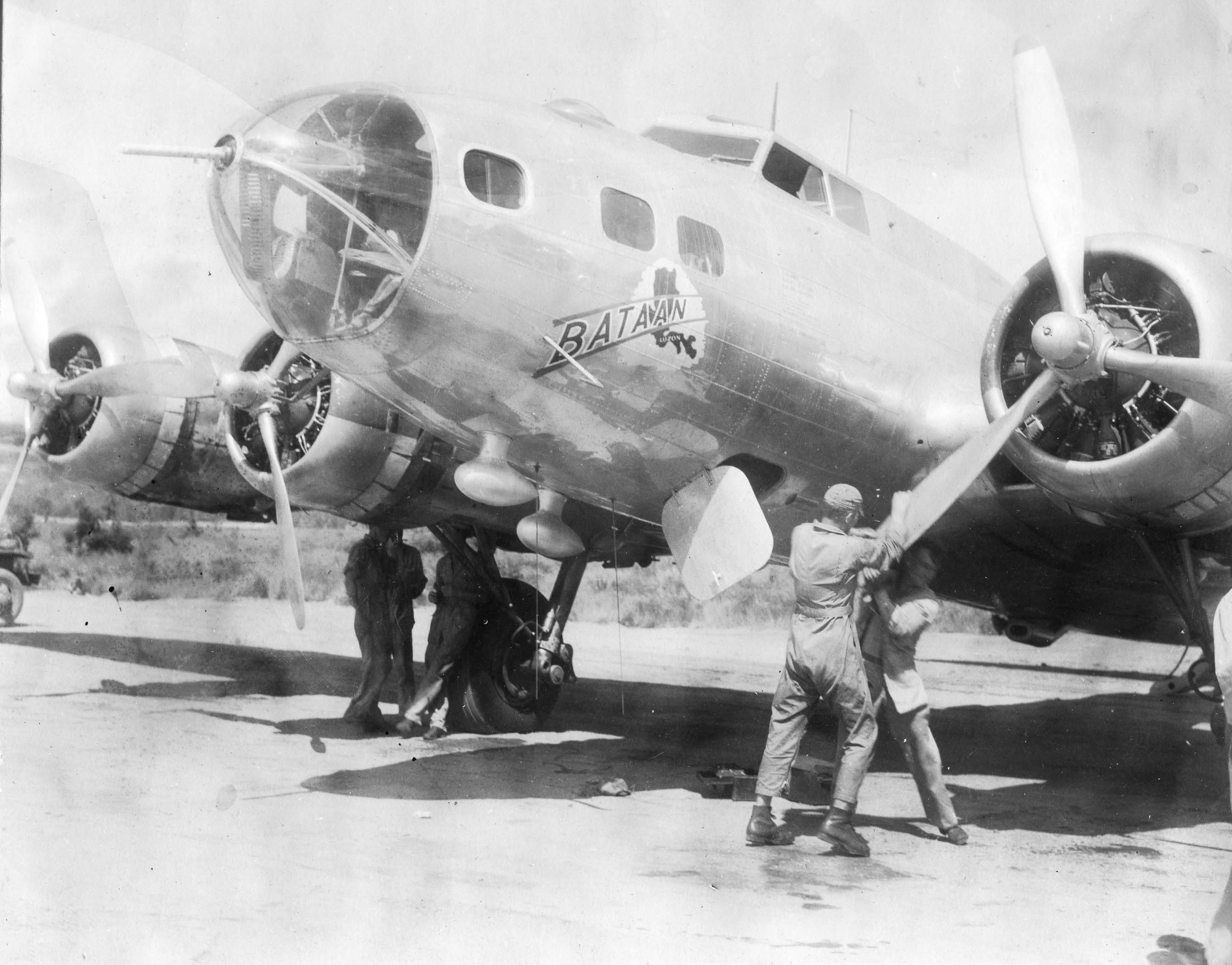 Bataan : B-17 : General Headquarters, SWPA : Sharpe 6 (Thomas Sharpe Collection) :