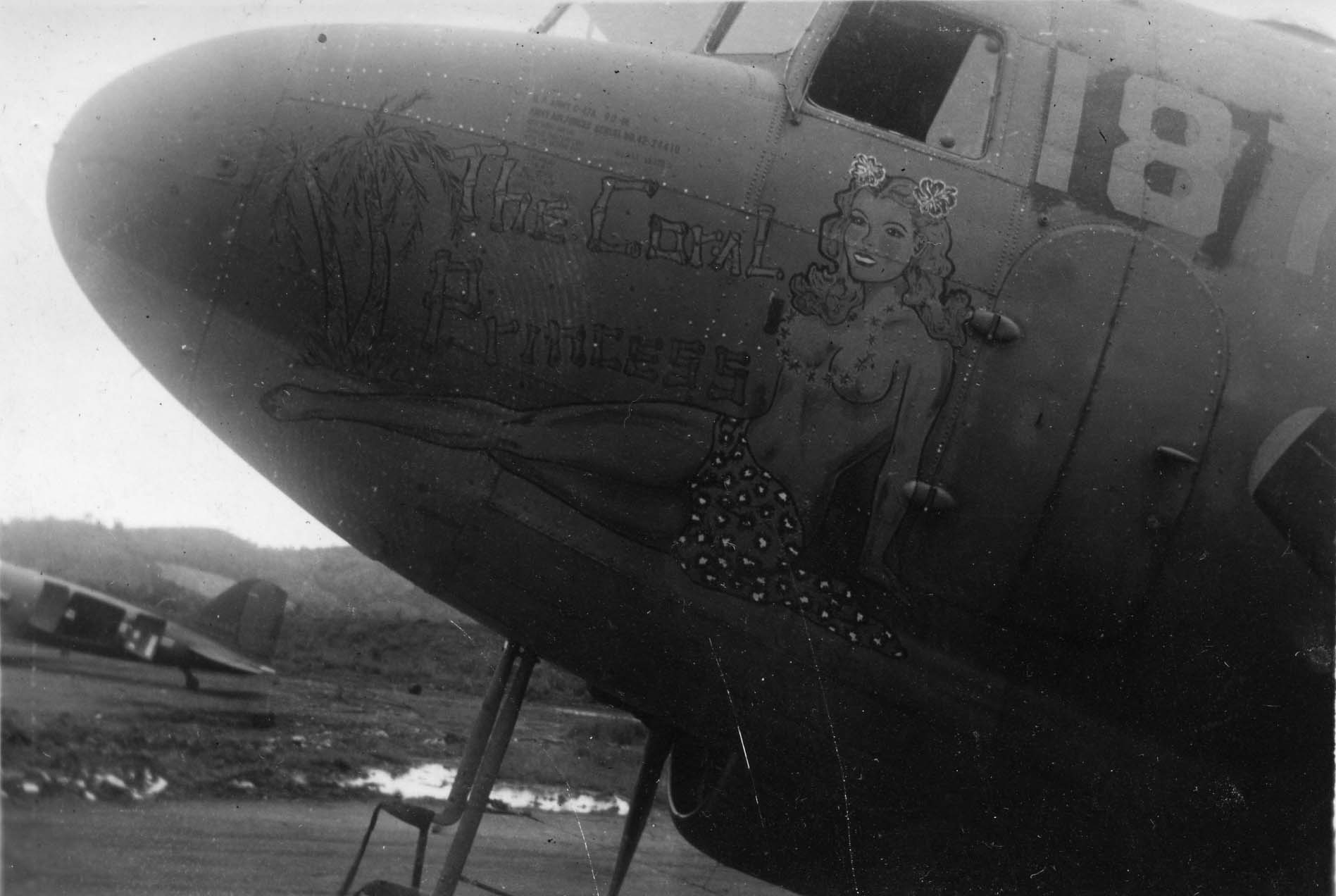 Coral Princess : C-47 : Planes from Unknown Groups or Squadrons : Sharpe 8 (Thomas Sharpe Collection)