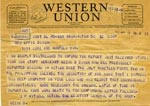 Western Union Telegram
