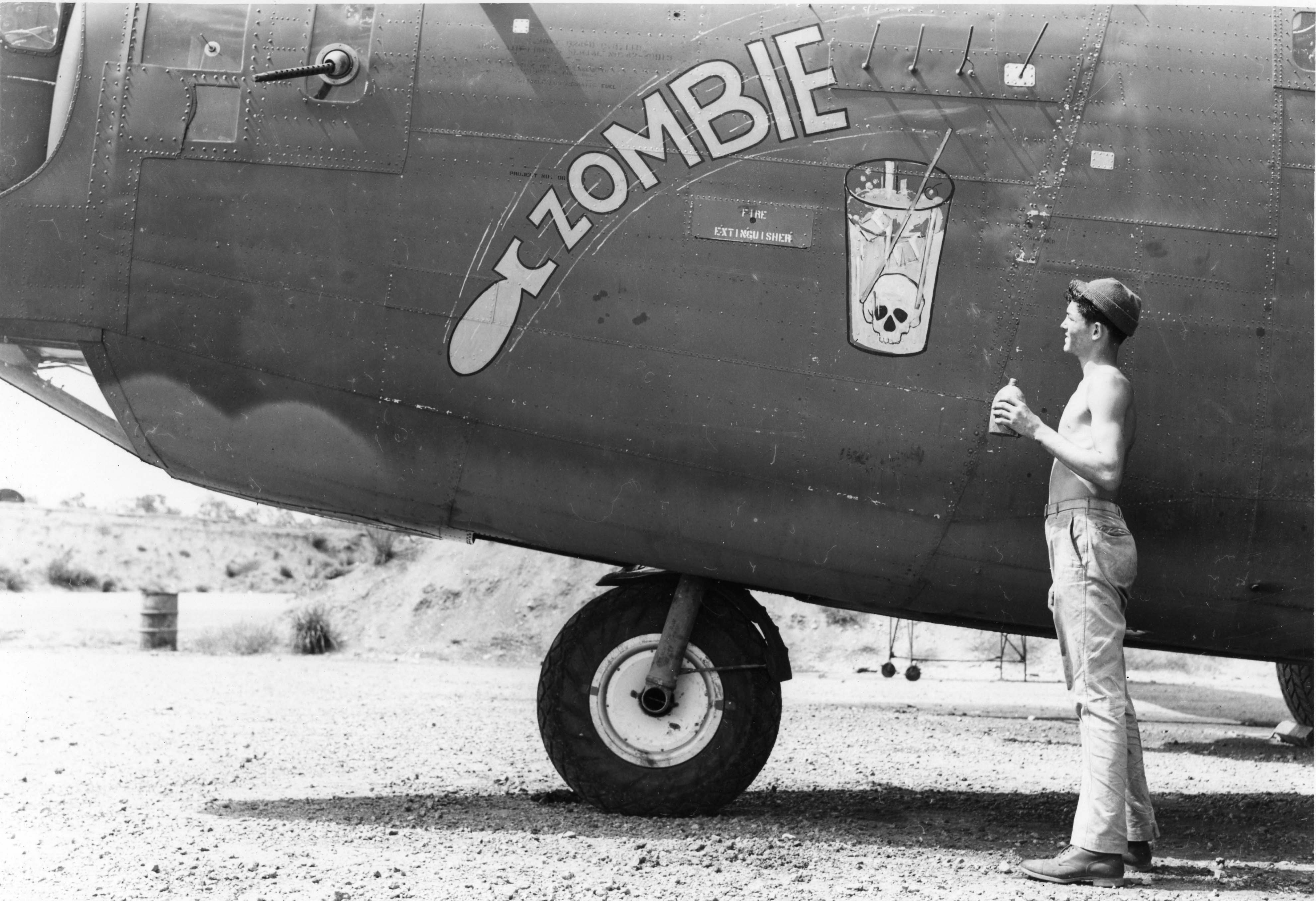 Zombie - B24 - 43rd Bomb Group - 64th Squadron - Serial #42-40913 - PH00005466 (Frederick German Collection)