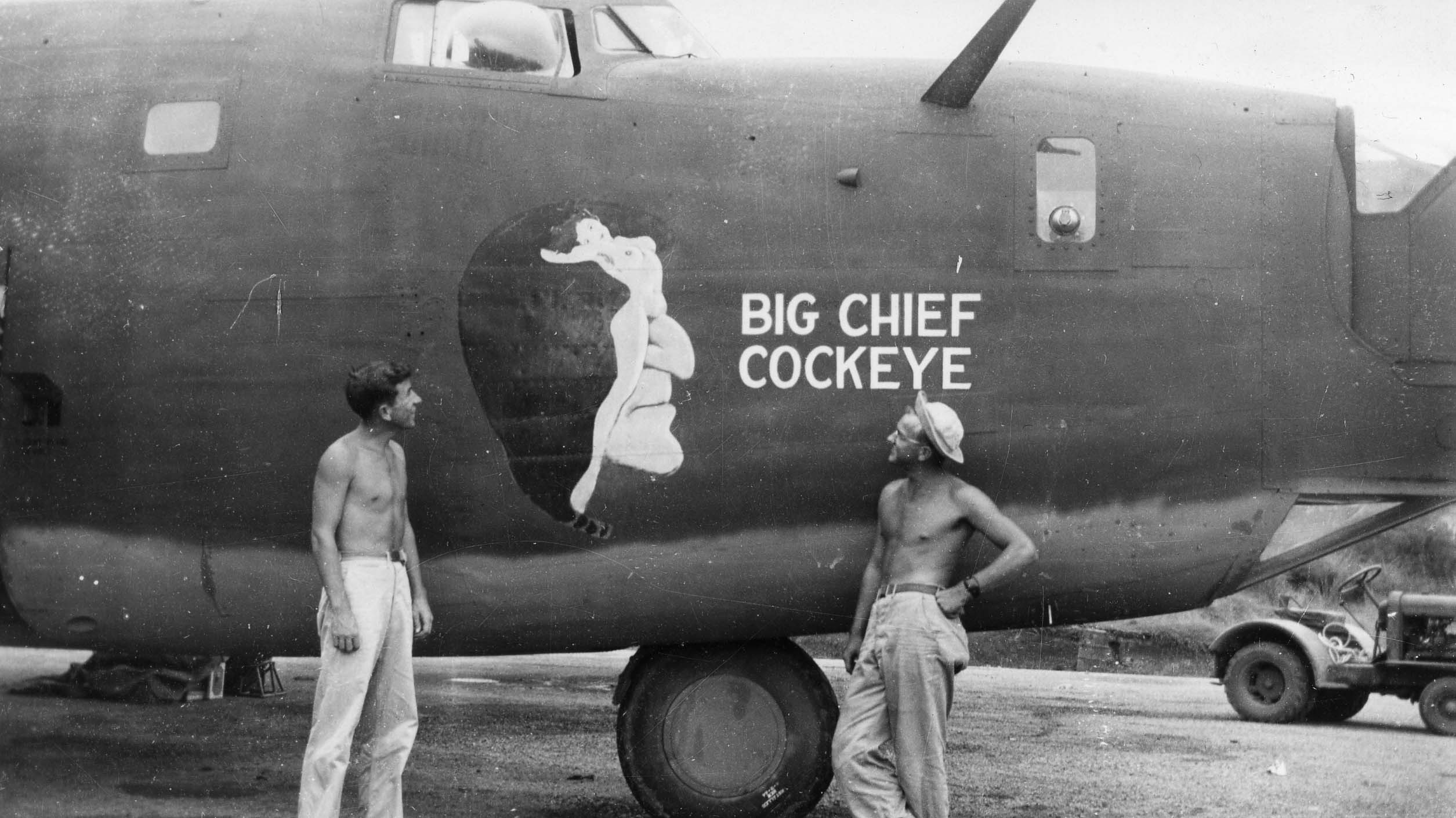 Big Chief Cockeye  (Sharpe #11) : B-24D : 380th Bomb Group : 530th Squadron : Sharpe #11 (Thomas Sharp Collection)