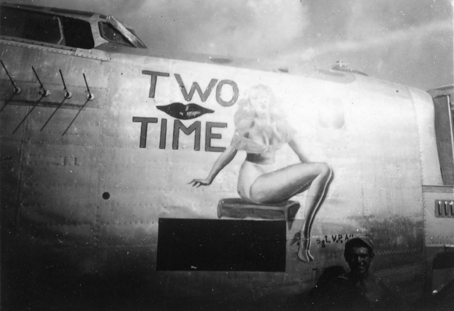 Two Time - B24 - 13th A.F. - 5th Bomb Group - 72nd Bomb Squadron - Serial #44-40546 - Sharpe 28 (Thomas Sharpe Collection)